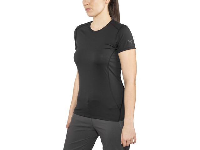 Arc'teryx W's Phase SL Crew SS Shirt black